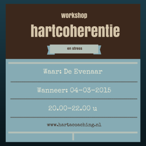 hartcoherentie stress workshop